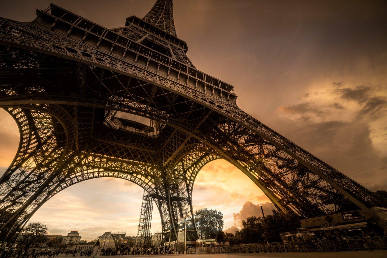 The Eifeltower in Paris